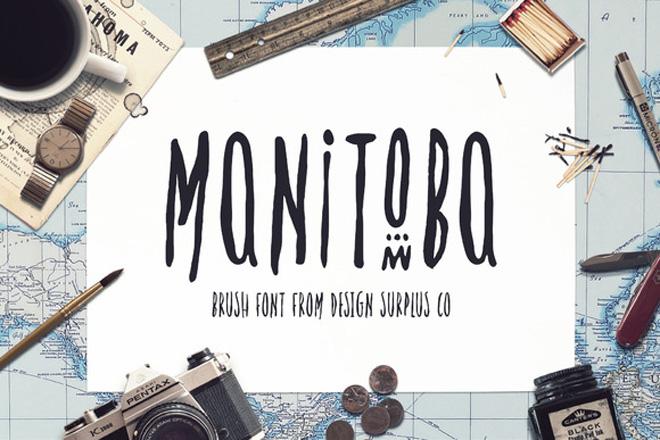 MANITOBAfont