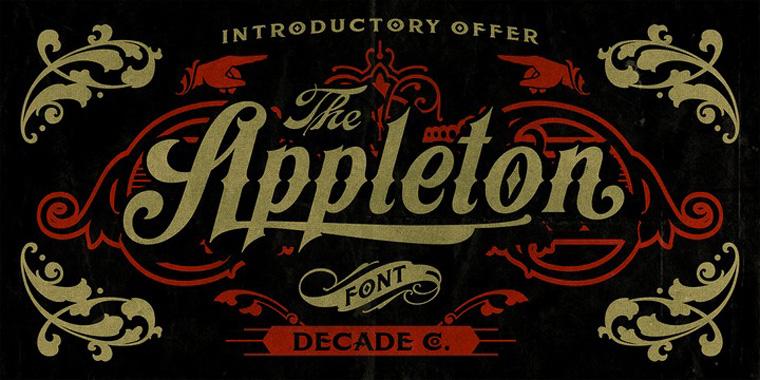 Appleton精美样张