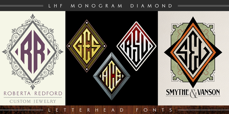LHF Monogram Diamond Beautiful Sample