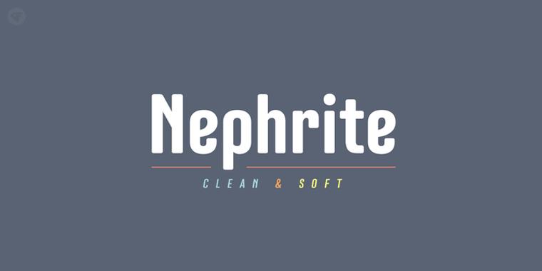 Nephrite精美样张