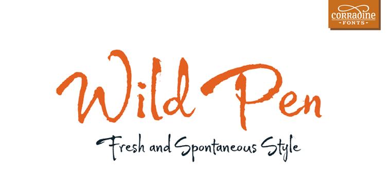 Wild Pen OT精美样张