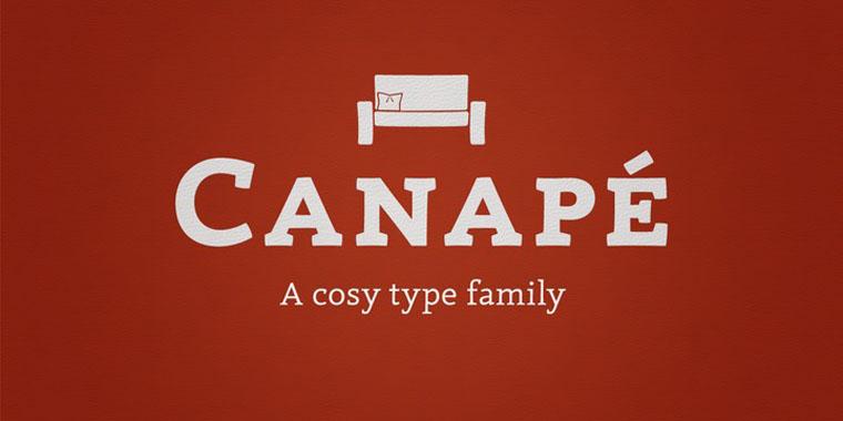 Canape Serif
