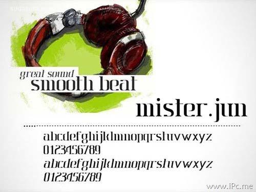 40款高质量英文设计字体