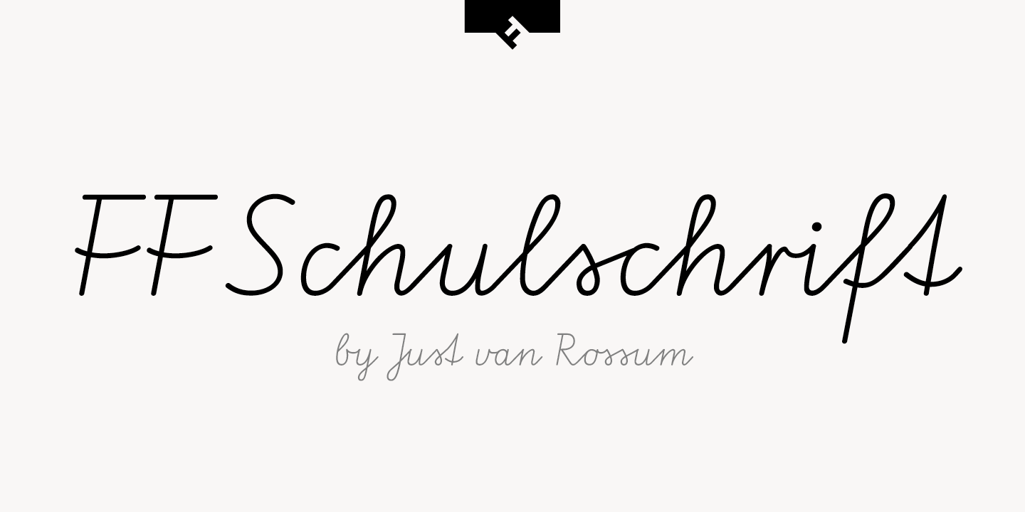 Schulschrift Beautiful Sample