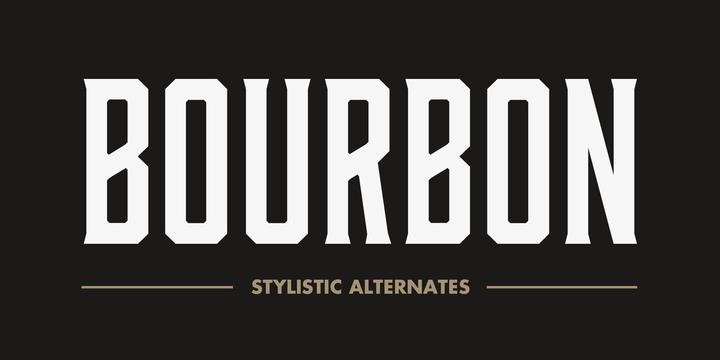 Bourbon精美样张