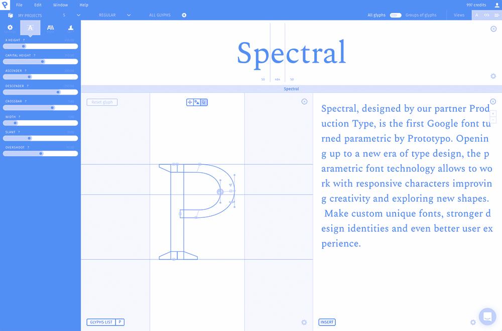 Google发布首款参数字体Spectral 可以为任何设计做出改变