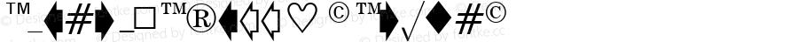 EisagoNewsSSK Regular Macromedia Fontographer 4.1 8/2/95
