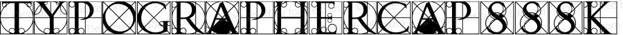 TypographerCapsSSK Regular Macromedia Fontographer 4.1 8/15/95