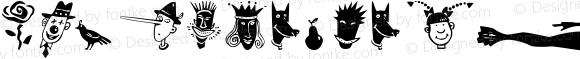KlunderScript Kreatures Regular 1.0