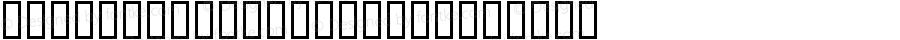 ColopocleKatakana Regular Macromedia Fontographer 4.1 99/01/11