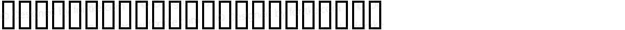 BokutohKuzureUH Regular Macromedia Fontographer 4.1 99/01/12