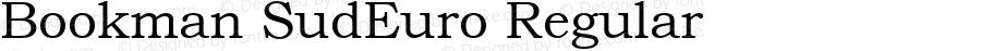 Bookman SudEuro Regular ISO 8859-3 (1988)