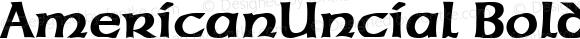AmericanUncial Bold Altsys Fontographer 3.5  19.01.1995