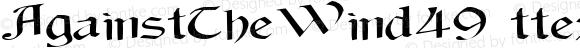 AgainstTheWind49 ttext Regular Altsys Metamorphosis:10/28/94
