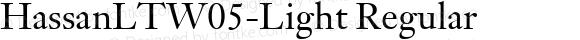 HassanLTW05-Light Regular