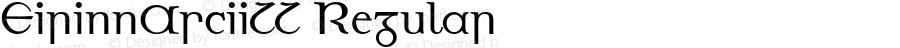 EirinnAsciiLL Regular Altsys Fontographer 4.1 06.02.1996