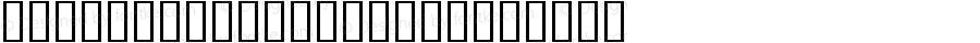 Bird Silhouettes Regular Altsys Fontographer 4.0.4 2/13/98