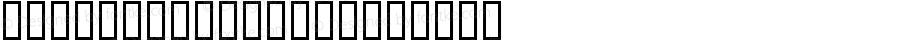 Bird Silhouettes Bold Altsys Fontographer 4.0.4 2/13/98