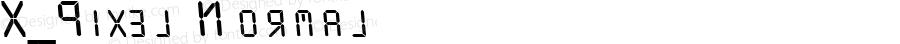 X_Pixel Normal 1.0 Sun Feb 18 14:20:30 1996