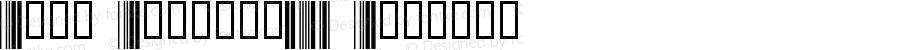 Abri Barcode39 Regular 1.0 2/22/98