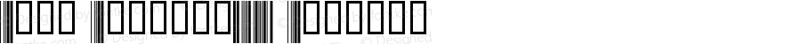 Abri Barcode39N Regular 1.0 2/22/98