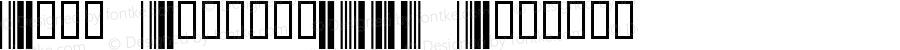 Abri Barcode39W Regular 1.0 2/22/98