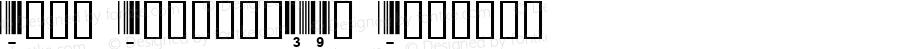 Abri Barcode39a Regular 1.0 2/22/98