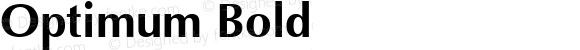 Optimum Bold Font Version 2.6; Converter Version 1.10