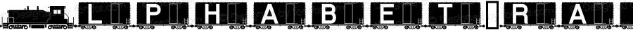 AlphabetTrain Boxcar Altsys Fontographer 4.0.4D2 7/24/95