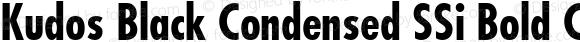 Kudos Black Condensed SSi Bold Condensed