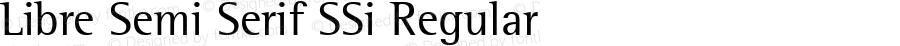 Libre Semi Serif SSi Regular 001.000