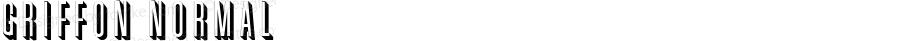 Griffon Normal 1.0 Wed Nov 18 08:54:36 1992