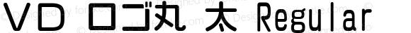 VD ロゴ丸 太 Regular 2.00