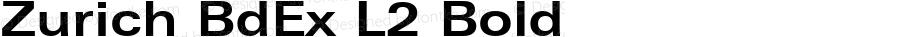 Zurich BdEx L2 Bold mfgpctt-v1.86 Feb 20 1996