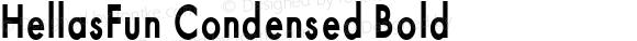 HellasFun Condensed Bold
