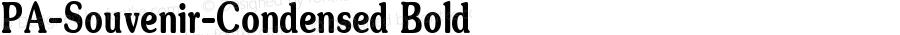 PA-Souvenir-Condensed Bold