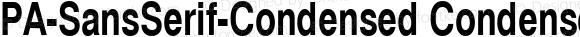 PA-SansSerif-Condensed-Bold