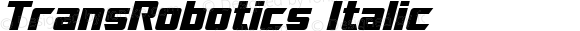 TransRobotics Italic