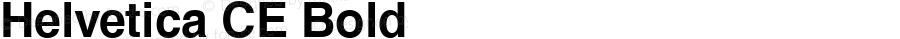Helvetica CE Bold 1.000; 02-13-95