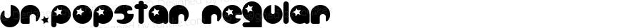 Jr.Popstar Regular Altsys Fontographer 4.0.2 11/3/97