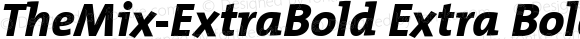 TheMix-ExtraBold Extra Bold Version 1.00