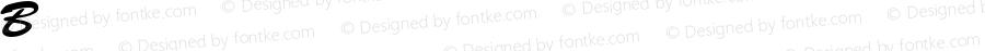 BrushScript-Normal-Italic Regular Converted from C:\EMSTT\BRUSHSCP.TF1 by ALLTYPE