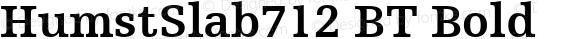 HumstSlab712 BT