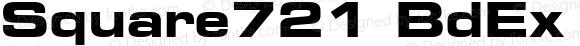 Square721 BdEx BT Bold
