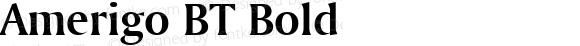 Amerigo BT Bold mfgpctt-v4.4 Jan 4 1999