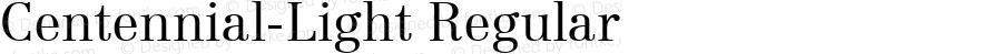 Centennial-Light Regular Altsys Metamorphosis:7/5/91