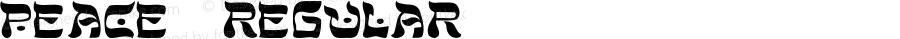 Peace- Regular -------------- d:\aff10\PEACE-.FF1 ----------