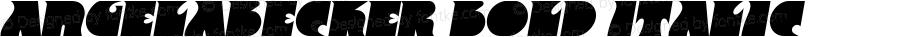 AngelaBecker Bold Italic 001.000