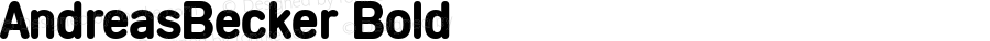 AndreasBecker Bold 001.000