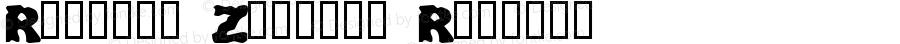 Redneck Zombies Regular Macromedia Fontographer 4.1 4/11/00